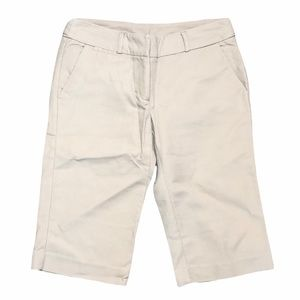 New York & Company Khaki Business Shorts- Sz4